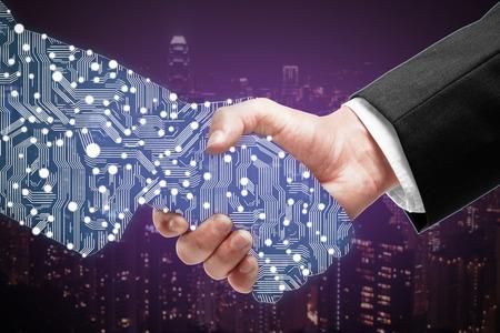 數位轉型-科技素材圖